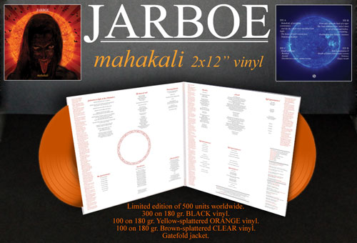 Jarboe 'Mahakali' Reissue - Throne Records
