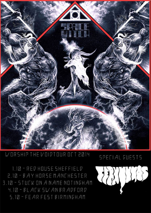 Space Witch / Cernunnos - UK Tour 2014