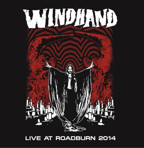 Windhand 'Live At Roadburn 2014' Artwork