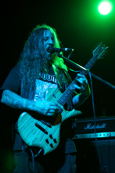 Yob @ Audio, Glasgow 06/09/2014 - Photo by Alex Woodward