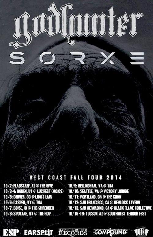 Godhunter / Sorxe - US Tour 2014
