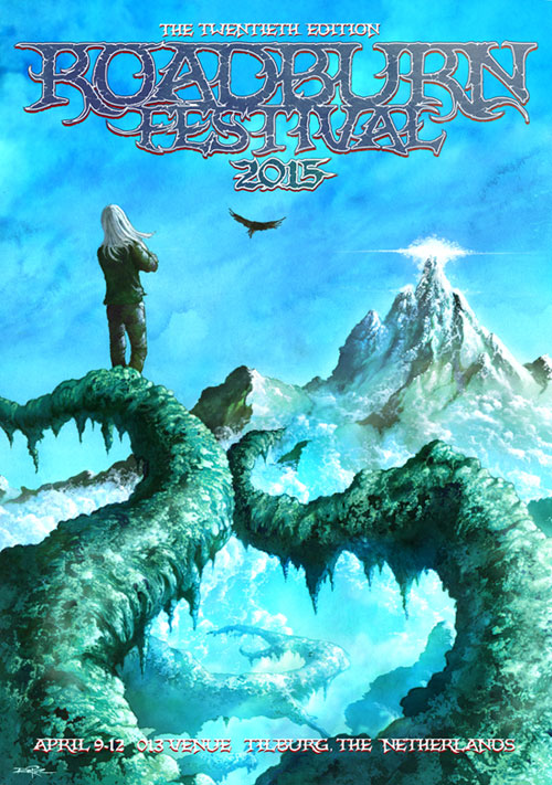 Roadburn 2015 - Artwork by Arik Roper