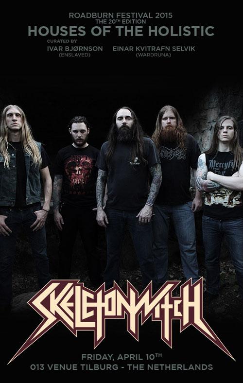 Roadburn 2015 - Skeletonwitch