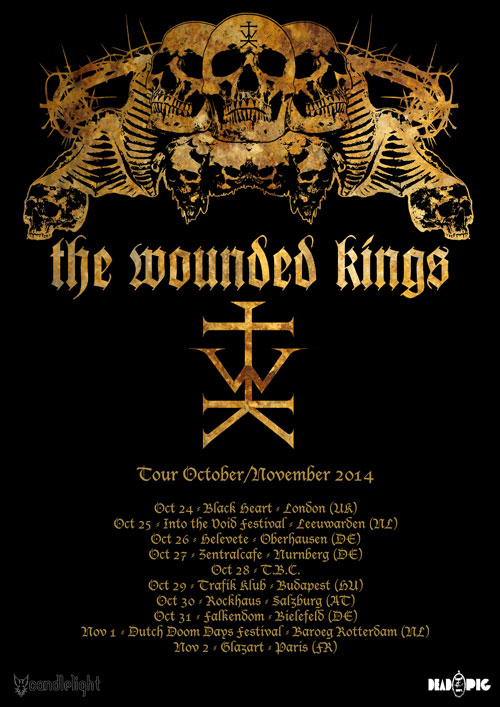 The Wounded Kings - Euro Tour 2014