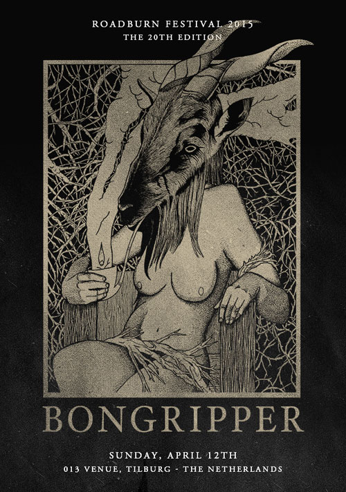 Roadburn 2015 - Bongripper - Afterburner