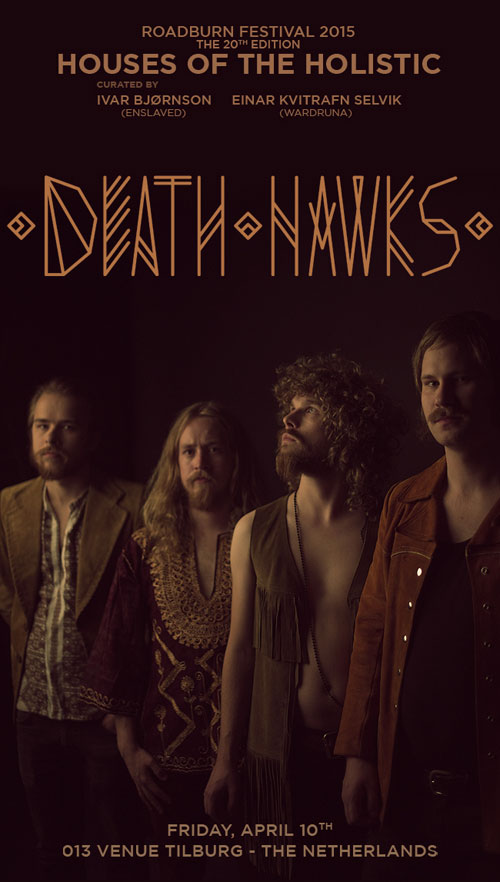 Roadburn 2015 - Death Hawks