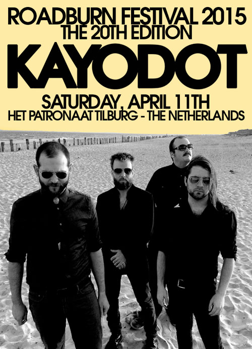 Roadburn 2015 - Kayo Dot