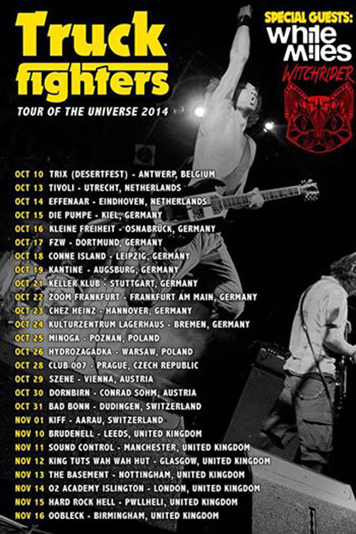 Truckfighters - Euro Tour 2014