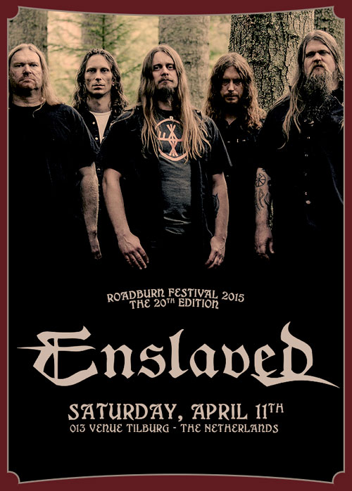 Roadburn 2015 - Enslaved - Saturday