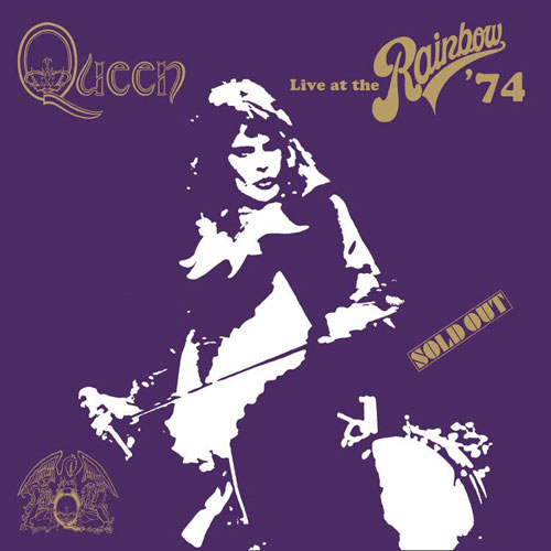 Queen 'Live At The Rainbow '74' Artwork