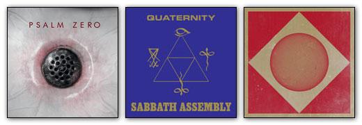 Psalm Zero, Sabbath Assembly, Sunn O))) & Ulver Artwork