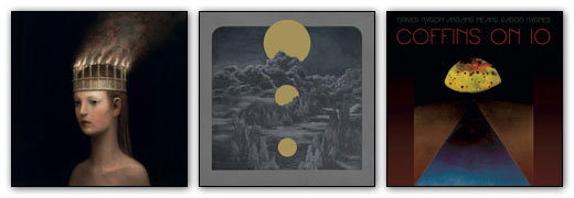 Mantar, Yob, Kayo Dot Artwork