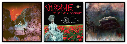 Earth, Chrome, Morbus Chron Artwork