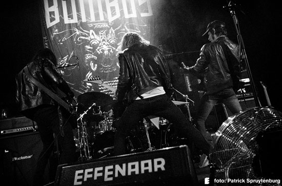 Bombus @ Effenaar, Eindhoven 18/12/2015 - Photo by Patrick Spruytenburg