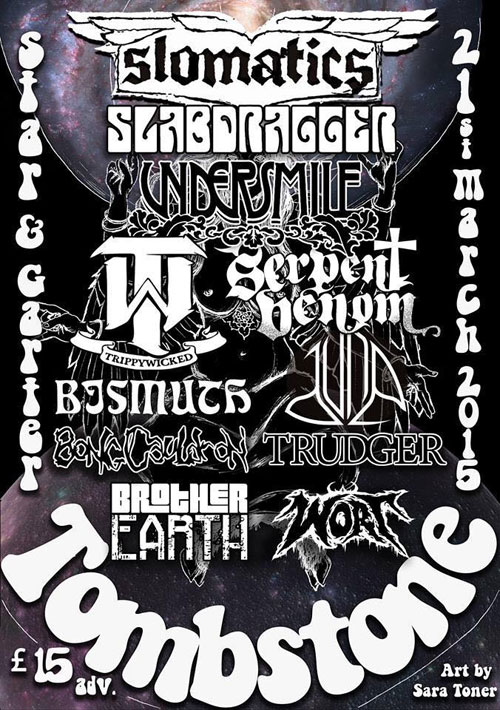 Tombstone All Dayer @ The Star & Garter, Manchester 21/03/2015
