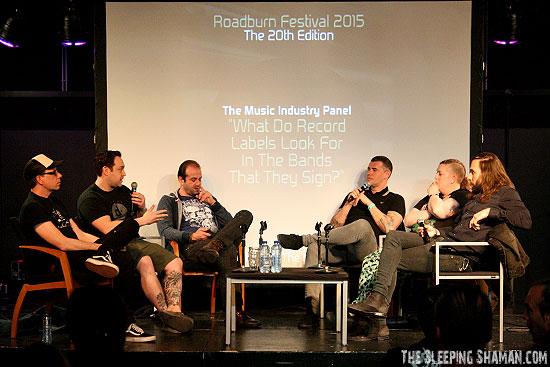 Music Industry Panel - Roadburn 2015