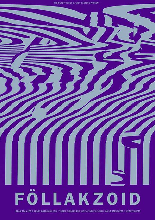 Föllakzoid / Dead Sea Apes / Jason Boardman (DJ Set) @ Soup Kitchen, Manchester