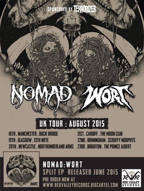 Nomad & Wort - UK Tour August 2015