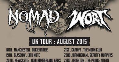 Nomad / Wort UK Tour Aug 2015