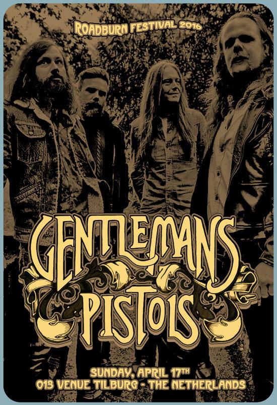 Roadburn 2016 - Gentlemans Pistols