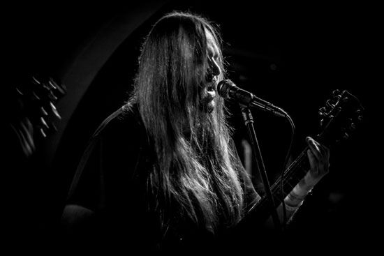 Iron Void @ Malta Doom Metal Festival 2015 Warm Up Gig – Photo by Justina Lukosiute