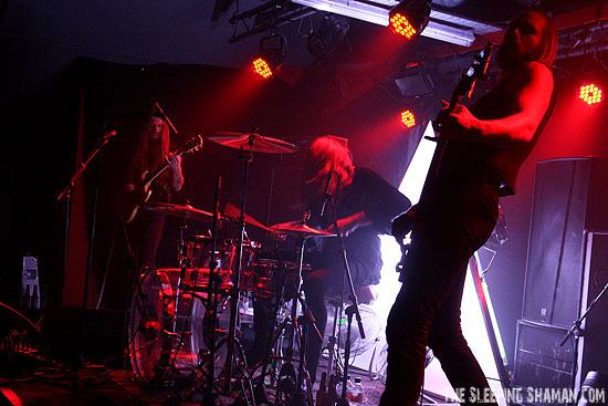 Kadavar @ Sound Control, Manchester 08/11/2015