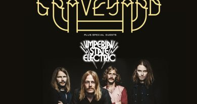 Graveyard / Imperial State Electric UK Tours 2015