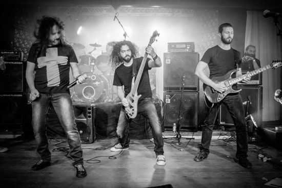 Doomocracy @ Malta Doom Metal Festival 2015 Day 1 – Photo by Justina Lukosiute