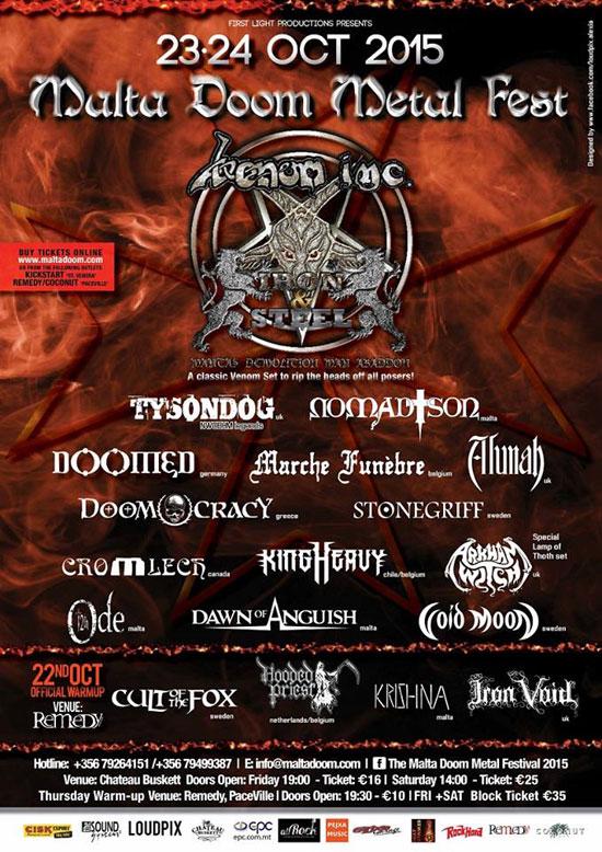 Malta Doom Metal Festival 2015