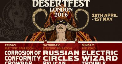 Camden Calling Once Again: The DesertFest 2016 Preview