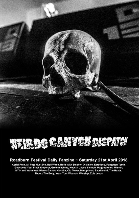 Weirdo Canyon Dispatch - Saturday 2018 Front Cover