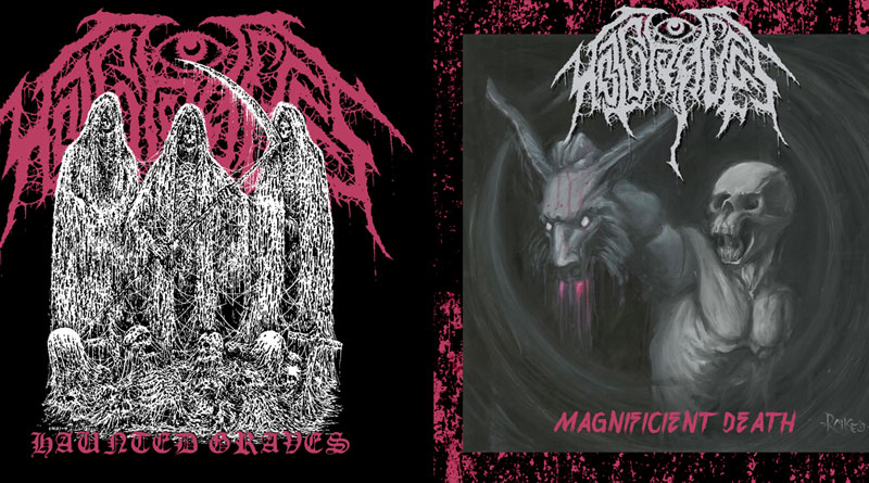 Hot Graves 'Haunted Graves' & 'Magnificent Death'
