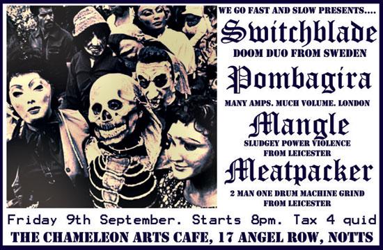 Switchblade / Pombagira Tour 2011