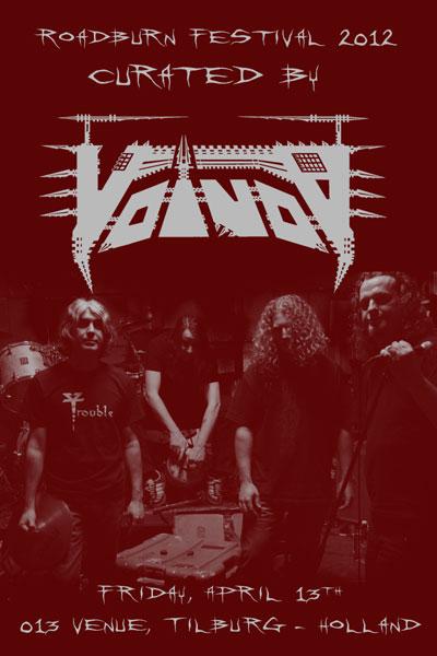 Voivod To Curate Roadburn Festival 2012