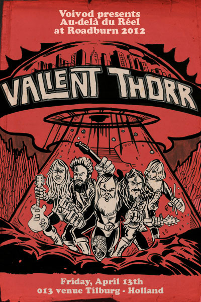 Roadburn 2012 - Valient Thorr