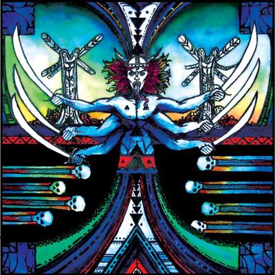 Black Pyramid 'II' Artwork
