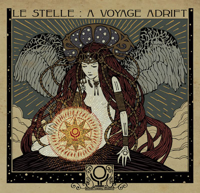 Incoming Cerebral Overdrive 'Le Stelle: A Voyage Adrift' Artwork