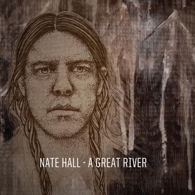 Nate Hall 'A Great River' Artwork