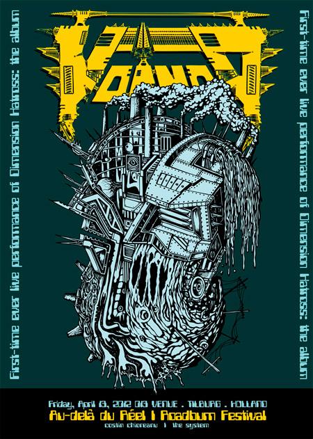 Roadburn 2012 - Costin Chioreanu - Voivod