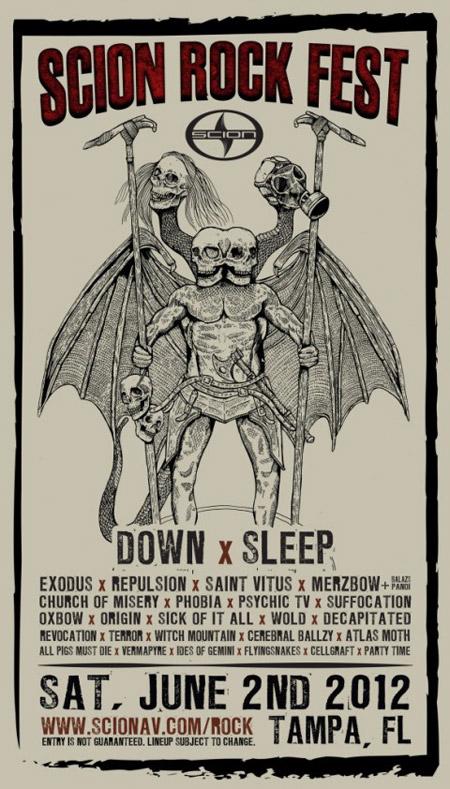 Scion Rock Fest - 2012