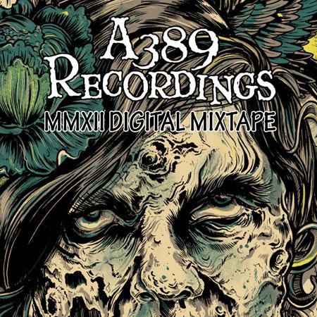 A389 Recordings 'MMXII Digital Mixtape' Artwork