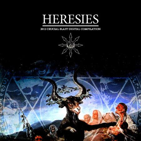 Crucial Blast 'Heresies: 2012' Artwork