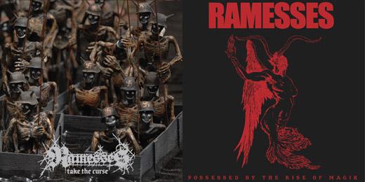 Ramesses - Take The Curse & Possessed Artwork