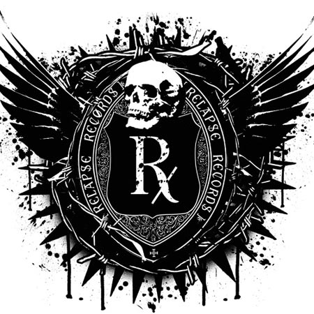 Relapse Records - logo