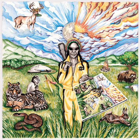 Guardian Alien 'See the World Given to a One Love Entity' Artwork