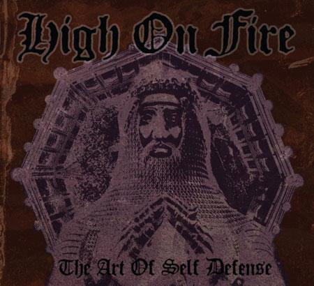 High On Fire 'The Art Of Self Defense' Artwork