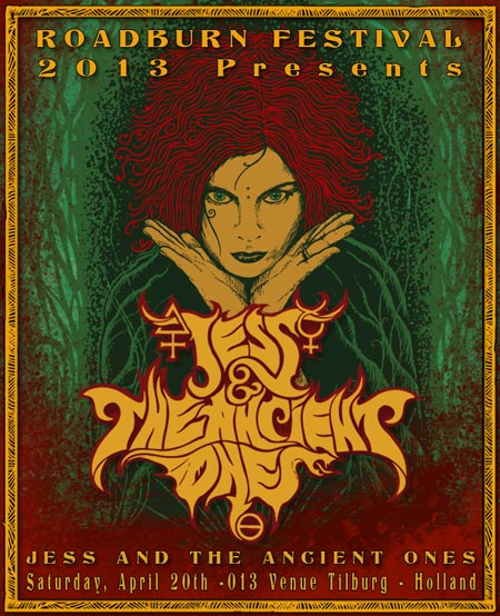 Roadburn 2013 - Jess and the Ancient Ones
