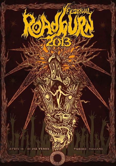 Roadburn 2013 - Poster by Costin Chioreanu