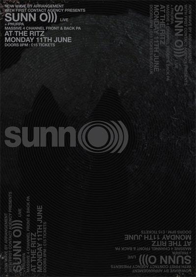 Sunn O))) / Phurpa - HMV Ritz, Manchester 11/06/2012