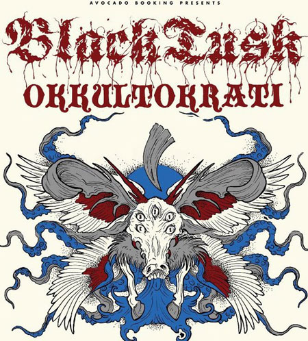 Black Tusk / Okkultokrati - Euro Tour 2012